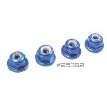 Associated   FT 3mm Blue Locknuts 10pcs