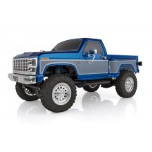 Associated CR12 Ford F-150 Pick Up Truck RTR, Electric 1:12th Scale 4WD, Brushed (Blue)