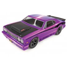 DR10 Drag Race Car, 1/10 Brushless 2WD RTR, w/ LiPo Battery & Charger, Purple