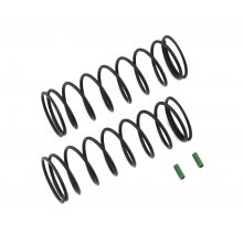 Associated Front Springs V2, Green, 4.9 lb/in, L70, for RC8B3.1 & RC8B3.1e