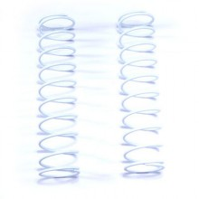 12MM Rear Spring, White, 2.10 LB