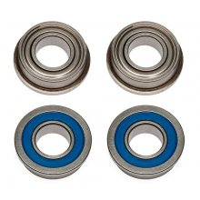 Associated 8x16x5mm FT Flanged Bearings, 4pcs