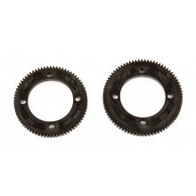 Center Diff Spur Gears, for B74, 72/78 Tooth