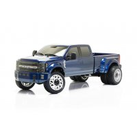 Ford F450 1/10 4WD Solid Axle RTR Truck - Blue