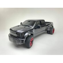 Ford F450 1/10 4WD Solid Axle RTR Truck - Grey