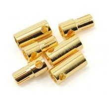 Castle Creations High Current 5.5mm Bullet Connector, 3pr.