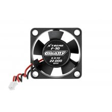 Ultra Hi-Speed 30mm ESC Cooling Fan, Ball Bearing, 6-8.4v w/ESC Plug