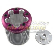 GHH02710P Cooling Head for Tamiya 0.18 engine Purple