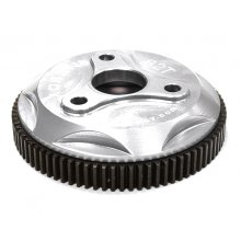 Integy 82T Metal Spur Gear for Traxxas 1/10 Electric  2WD- Silver