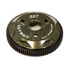 Integy 86T Metal Spur Gear for Traxxas 1/10 Electric  2WD- Grey