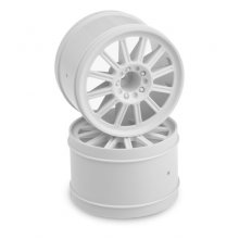 "Relux 2.8"" Rear Wheels, E-Stampede/Rustler, White. 1 pr"