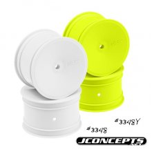 Jconcepts Mono 2.2 Rear Wheel, White B5M/RB6 , 4pcs