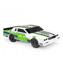 1987 Chevy Monte Carlo, Street Stock 1/10 Clear Body, Light Weight