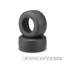 Jconcepts Hotties Short Course Truck Front & Rear Tires for Drag Racing - Green Compound