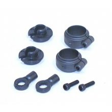Shock Spring Clamps and Cups, 1 pair
