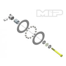 MIP Carbide Diff Ball Rebuild Kit -B5/B6