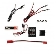 Car Package 2 Headlight - 1-HB-1 Controller 2-White, 2-Red (5mm)