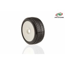 1/8th buggy U-Mounts, Style 2027, Soft+ White Wheels