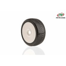 1/8th buggy U-Mounts, Style 2016, Soft+ 25, White Wheels