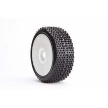 1/8th buggy U-Mounts, Style 2029, Soft on White Wheels