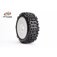 1/8th buggy U-Mounts, Badland w/ White Wheels