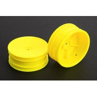 "2.2"" 1/10 Buggy Yellow Front*2pcs"