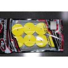 26x38mm 2WD Front Wheel 12mm*8pcs(Yellow)For IFMAR