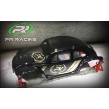 1/10 RC Body Beetle Baja (PR VB-10) for Short Course Truck (Clear)