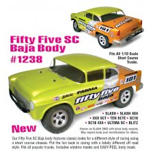 Fifty Five SC BAJA, Clear Body