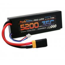 Powerhobby  5200mAh 7.4V 2S 35C LiPo Battery XT60/TRX