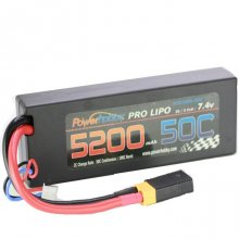 Powerhobby  5200mAh 7.4V 2S 50C LiPo Battery XT60/TRX