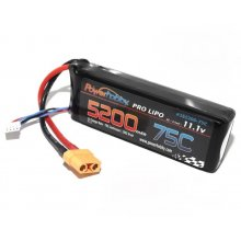 Powerhobby  5200mAh 11.1V 3S 75C LiPo Battery w/ Hardwired XT90 Connector