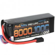 4S 14.8V 8000MAH 100C Lipo Battery, w/ Genuine Traxxas Plug, for X-Maxx 8S