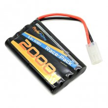 Airsoft NiMH 9.6V 2000mAh Battery Pack for RC Car, Robots, Security