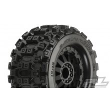 "Proline MX 2.8"" Badlands,Mounted F-11 Wheels"