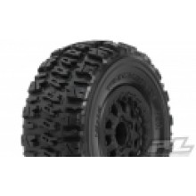 Trencher Tires Mounted on Renegade Black Wheels, Slash(R), Blitz(R)