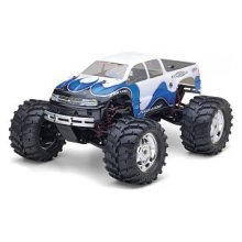 Chevy 4-door Silverado body, E-Maxx
