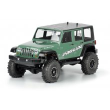 Jeep® Wrangler Unlimited Rubicon Rock Crawler Body, Clear