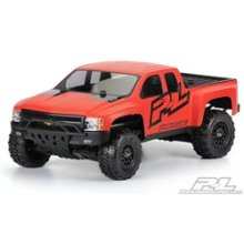 Chevy Silverado HD Clear Body for Slash 2WD and 4WD