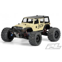 Jeep Wrangler Unlimited Rubicon Body, Clear, Monster Truck