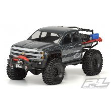 "Chevy Silverado Rock Crawler Body, 12.3"" WB, Clear"