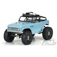 "Ambush Clear Body w/ Ridge-Line Trail Cage, for 12.3"" (313mm) Wheelbase Crawlers"