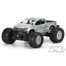 2019 Chevy Silverado Z71 Trail Boss Clear Body, for Pro-MT and Stampede 4X4
