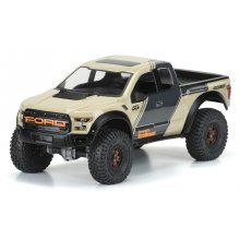 "Proline 2017 Ford F-150 Raptor Clear Body, for 12.3"" (313mm) Wheelbase Crawlers"