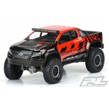 "Proline Chevy Colorado ZR2 Clear Body, for 12.3"" Wheelbase, Crawlers"