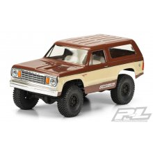 1977 Dodge Ramcharger Clear Body for 12.3 (313mm) Wheelbase Scale Crawlers