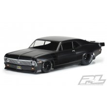 1969 Chevrolet Nova Clear Body for Slash 2wd Drag Car