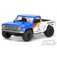 1984 Dodge Ram 1500 Race Truck Clear Body, for Slash 2wd, Slash 4x4 & PRO-Fusion SC 4x4