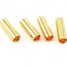 4.0mm Gold Plated Inline Connector (4 Female)