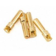 4.0 mm Super Bullet Connectors, 4 Female pcs
